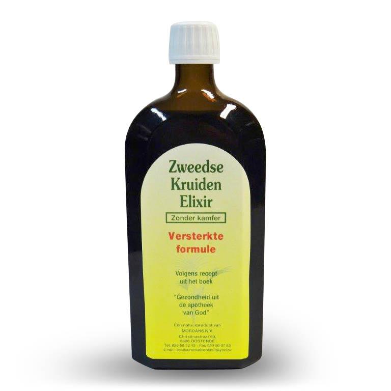 Mordan Zweedse Kruidenelixir met Kamfer 500 ml