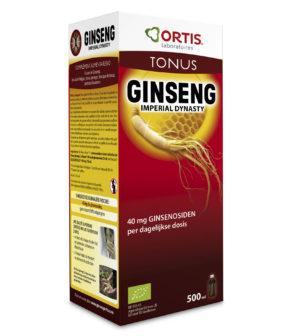 Ortis Ginseng Imperial Dynasty Bio met alc. 500 ml