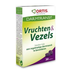 Ortis Vruchten & Vezels Tabletten