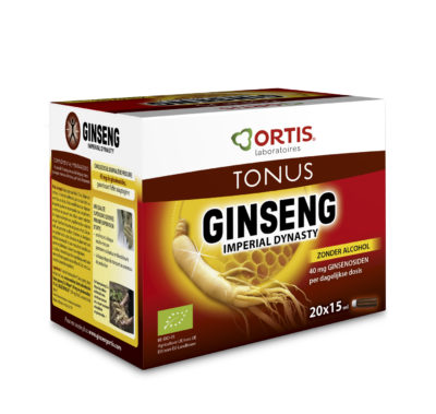 Ortis Ginseng Imperial Dynasty Bio zonder alcohol Monodosis