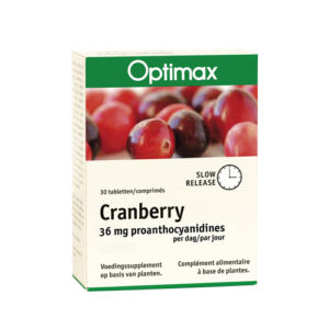 Optimax Cranberry Slow Release