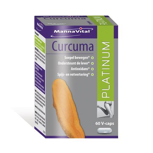 MannaVital Curcuma 60 v-Caps